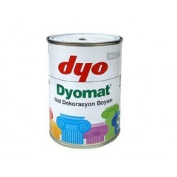 DYOMATT white ( alb ) 2.5 L