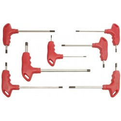 Chei Imbus Maner T (7 buc/set) Buildxell - Marime: M3/75-M8/150 mm