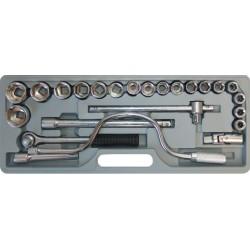 Chei Tubulare (24 buc/set) Buildxell - Marime: 10-32 mm
