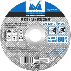 Disc Abraziv Evoselect A46 Extra Evoselecti - Diametru: 115mm Latime: 1.6 mm
