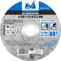 Disc Abraziv Evoselect A46 Extra Evoselecti - Diametru: 230mm Latime: 1.9 mm
