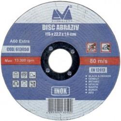 Disc Abraziv Evoselect A60 Extra Evoselecti - Diametru: 115mm Latime: 1.2 mm