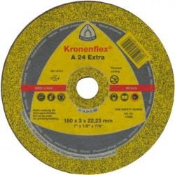 Disc Abraziv Klingspor A24 Extra Klingspor - Diametru: 180mm Lungime: 3 mm