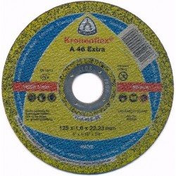 Disc Abraziv Klingspor A46 Extra Klingspor - Diametru: 115mm Latime: 1.6 mm