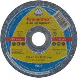 Disc Abraziv Klingspor A46 TZ Special Klingspor - Diametru: 125mm Latime: 1.6 mm