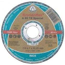 Disc Abraziv Klingspor A60 TZ Special Klingspor - Diametru: 115mm Latime: 1 mm