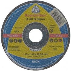 Disc Abraziv Klingspor A60R Supra Klingspor - Diametru: 115mm Latime: 1 mm
