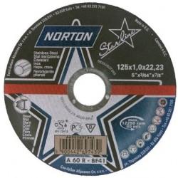 Disc Abraziv Norton A60R-BF41 Norton - Diametru: 125mm Latime: 1 mm