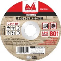 Disc Abraziv pt Piatra Evotools - Diametru: 230mm Latime: 3.4 mm