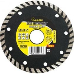 Disc Diamantat (Turbo) Buildxell - Diametru: 115 mm