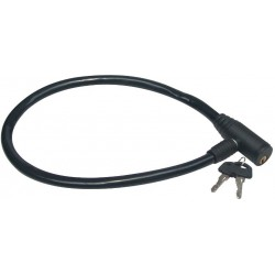 Lacat cu Cablu pt Bicicleta Buildxell - Lungime: 550 mm