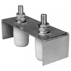 Placa Ghidaj Suport Reglabil, 2 Role Cilindrice BX Buildxell - Diametru: 42mm Lungime: 40 mm