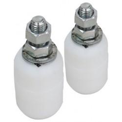 Rola Cilindrica Nylon pt Porti Culisante Buildxell - Diametru: 42mm Lungime: 60 mm