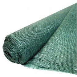 Plasa Umbrire Verde HDPE UV Buildxell - Latime: 10m Latime: 2m Grad de umbrire: 80 %