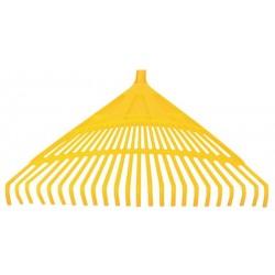 Grebla Plastic pentru Frunze / Dinti: 24 - Lungime: 600 mm Buildxell