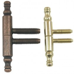 Balama Cilindrica Ornamentala Buildxell - Culoare: gold Diametru: 13x90 mm