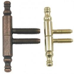 Balama Cilindrica Ornamentala Buildxell - Culoare: gold Diametru: 11x75 mm