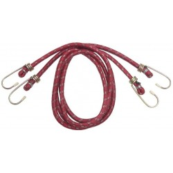 Cablu Elastic (2 buc) Buildxell - Diametru: 6mm Latime: 1 m