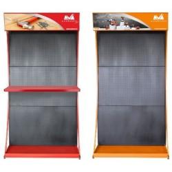 Expozitor Metalic HGT Ttm - Culoare: Orange Lungime: 1000mm Latime: 500mm Inaltime: 2200 mm