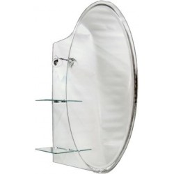 Oglinda Etajera+Lampa 90x70 Aqua - Lungime: 900mm Latime: 700 mm