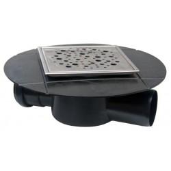 Sifon Inox Izolabil pt Pardoseala SL in Linie EVO Capricorn - Lungime: 120mm Diametru: 40 mm