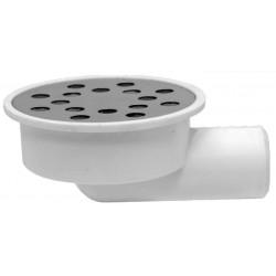 Sifon Orizontal Rotund pt Pardoseala Ttm - Diametru: 80mm Diametru: 32 mm