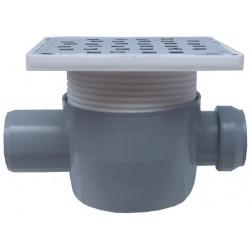 Sifon Pardoseala cu 1 Intrare 180 SP-H75-150-3 Ttm - Diametru: 40mm Diametru: 50 mm
