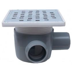Sifon Pardoseala cu 1 Intrare 90 Dreapta SP-H75-150-2 Ttm - Diametru: 40mm Diametru: 50 mm
