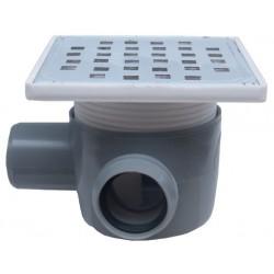 Sifon Pardoseala cu 1 Intrare 90 Stanga SP-H75-150-1 Ttm - Diametru: 40mm Diametru: 50 mm