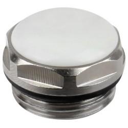 Dop Calorifer Ornament Aqua - Diametru: 1/2 inch
