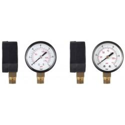Manometru pt Apa Radial Aqua - Presiune: 0-10bar Diametru: 1/4 inch