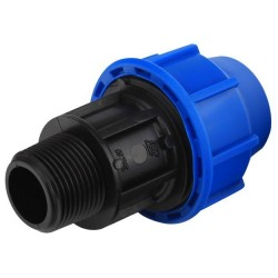Adaptor FE pt PEHD Plasticaalfa - Diametru: 20mm Diametru: 3/4inch Model: 4651