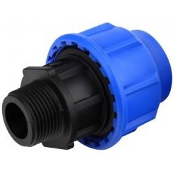 Adaptor FE pt PEHD Aqua Aqua - Diametru: 20mm Diametru: 1/2 inch