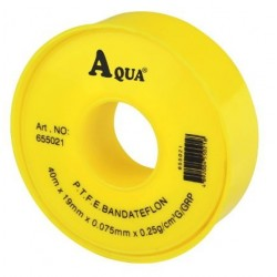 Banda Teflon Aqua - Latime: 40m Latime: 19mm Grosime: 0.075 mm