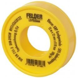 Banda Teflon Felder Felder - Latime: 12m Latime: 12mm Grosime: 0.1 mm