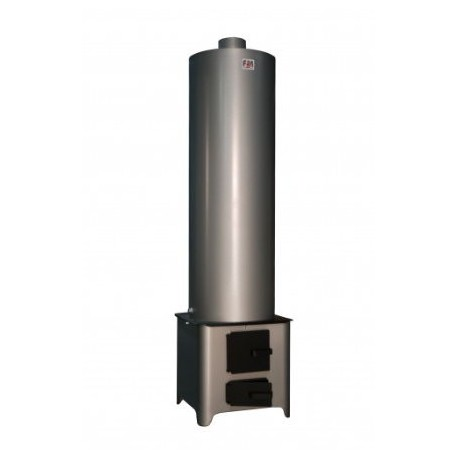 Boiler Combustibil Solid Buildxell - Volum: 90l Model: Otel Vopsit
