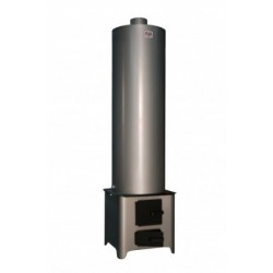 Boiler Combustibil Solid Buildxell - Volum: 90l Model: Inox