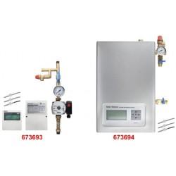 Statie Automatizare Panouri Solare Presurizate Wilo Aqua - Model: Apa Calda si Incalzire SR961S