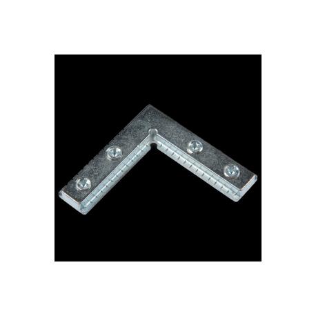 Coltar metalic pentru profil de aluminiu