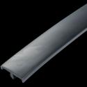 Bordura PVC cu profil T 18.5 Negru Opac