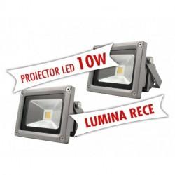Set 2 Proiectoare LED 10W din aluminiu