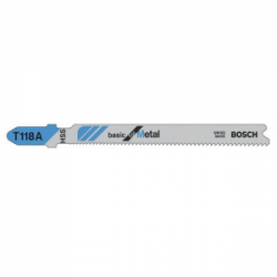 Set de 5 panze pentru metal tip T118 A