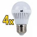 Set 4 Becuri LED 12W - Lumina Calda