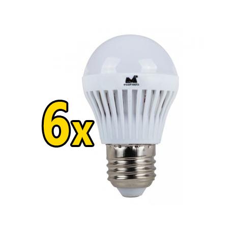 Set 6 Becuri LED 12W - Lumina Calda